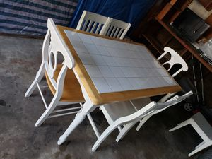 Dining table with 6 chairs for Sale in Burbank, CA