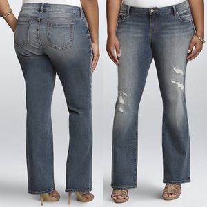 Torrid | Lightly Distressed Relaxed Boot Cut Jeans- SZ 14 for Sale in Las Vegas, NV