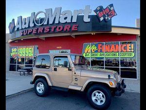 2000 Jeep Wrangler for Sale in Chandler, AZ