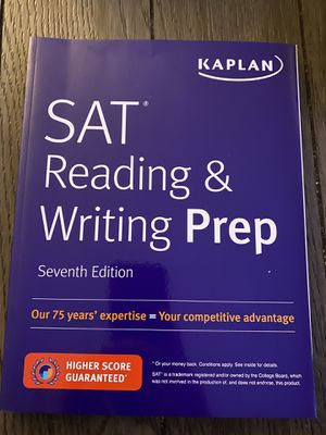 KAPLAN SAT Reading & Writing Prep 7th edition for Sale in Anaheim, CA