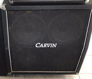 Carvin 4X12 guitar speaker cabinet for Sale in Everett, MA