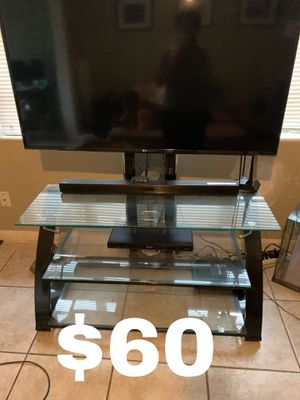 3 Tier Glass TV Stand for Sale in Orlando, FL