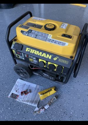 Gas Generator - USED TWICE!! MINT CONDITION for Sale in San Diego, CA
