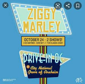 Ziggy Marley at Grove of Anaheim Car Concert Pass! for Sale in Anaheim, CA