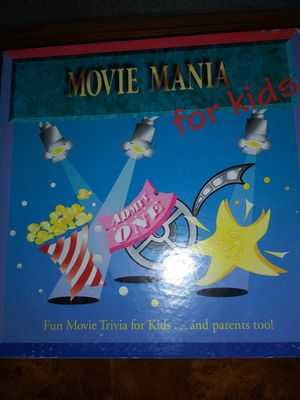 Board Game Movie Mania for Kids for Sale in Raleigh, NC