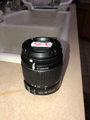 Canon CAMERA 18-55MM EFS LENS W/ SONY EMOUT ADAPTER for Sale in Phoenix, AZ