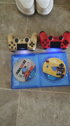 Ps4 controllers 2k18 madden 19 for Sale in Washington, DC