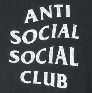 Anti Social Social Club x Be@rbrick Puzzle tee for Sale in HALNDLE BCH, FL