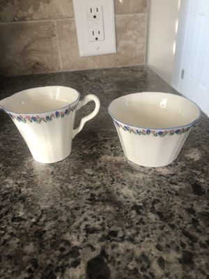 Made in England Adderley creamer and sugar bowl for Sale in Danbury, CT