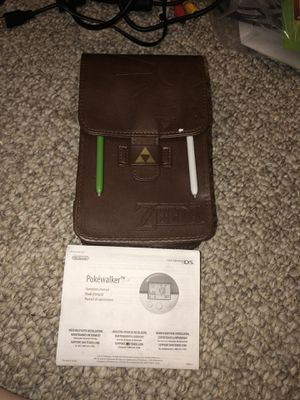 Zelda case and pokewalker insert Nintendo ds and 3ds for Sale in Kennedale, TX