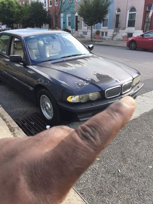 2001 bmw 740il for sale for Sale in Baltimore, MD