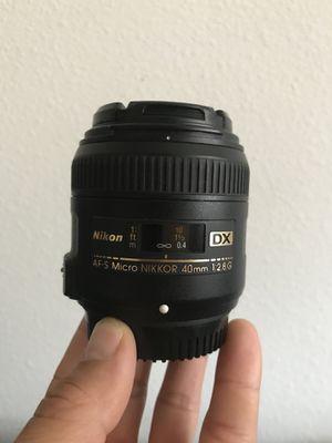 Nikon 40mm f2.8 for Sale in Houston, TX