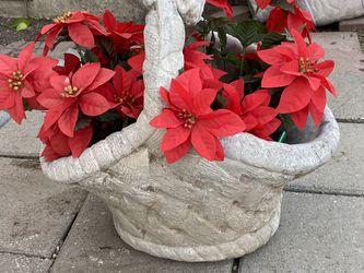 Planter Cement Basket for Sale in Modesto,  CA
