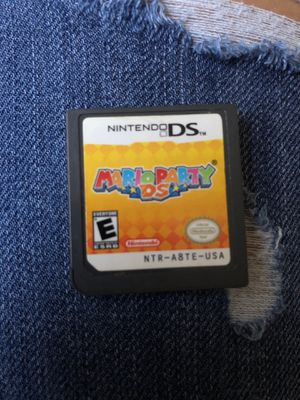 Nintendo DS Mario Party DS game for Sale in Moreno Valley, CA