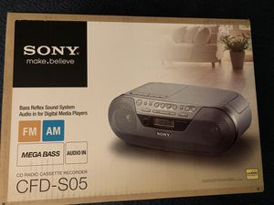 Sony Radio Cassette Recorded Player BRAND NEW for Sale in Garden Grove, CA