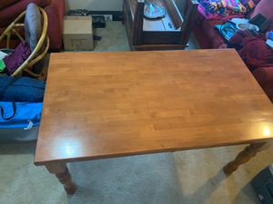 Solid kitchen table no chairs! for Sale in Kent, WA