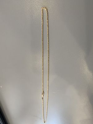 14k gold rope chain (Real Gold) for Sale in Los Angeles, CA