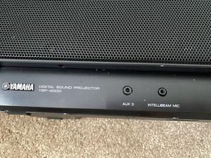 Soundbar Digital Yamaha YSP-4000 for Sale in San Diego, CA