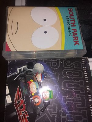 South Park 6-10&12seasons for Sale in Georgetown, LA