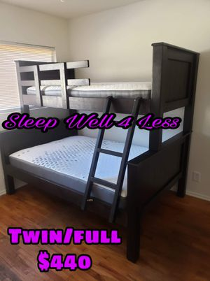 NEW💥TWIN/FULL BUNKBEDS💥MATTRESS'S INCLUDED💥IN STOCK💥💥 for Sale in Bellflower, CA