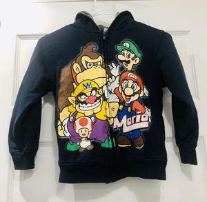 Super Mario Bros Zippered Sweat Jacket M for Sale in Spokane, WA