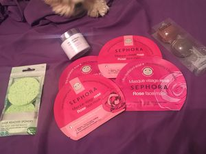 Face care set of masks and sponges! for Sale in Austin, TX