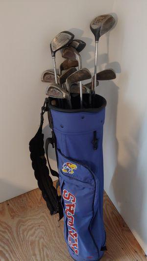 Golf bag with starter clubset for Sale in Overland Park, KS