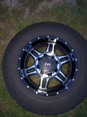 18's Black/Chrome rims for Sale in Torrington, CT