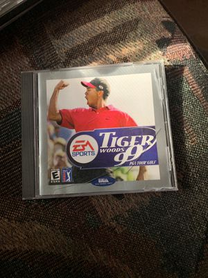 Ea sports tiger woods 99 pga tour golf pc for Sale in New Port Richey, FL