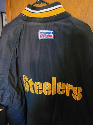 Steelers 2xl starter rain jacket for Sale in Tacoma, WA