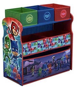 Delta Children 6-Bin Toy Storage Organizer, PJ Masks for Sale in Bolingbrook, IL