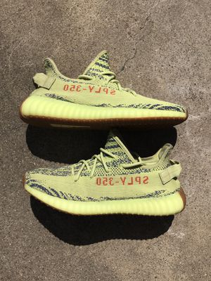 Adidas Yeezy 350 v2 Semi Frozen Yellow Size 10.5 No Box for Sale in Oakland, CA