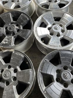 17 Inch Toyota Tacoma 4Runner 6 Rims for Sale in Los Angeles,  CA
