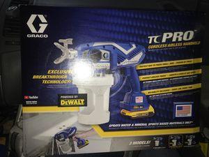 Graco tc pro 514 paint sprayer for Sale in Stockton, CA