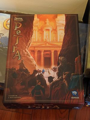 Passing through Petra Board Game likeNew for Sale in Valley City, OH