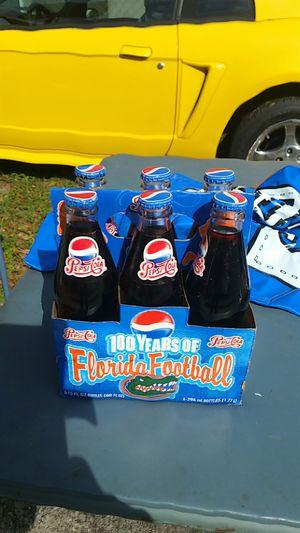 Gatoe 100 years of football pepsi bottles for Sale in Zephyrhills, FL