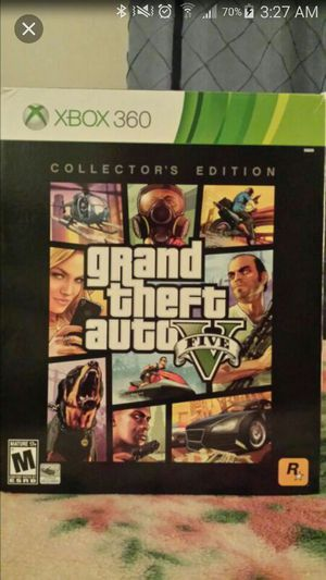 Gta v Collectors Edition for Sale in Hyattsville, MD