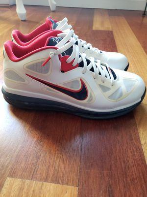 Nike men's shoe Lebron James 9's size 11 for Sale in Gresham, OR