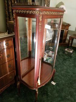 Detailed, Antique China Closet for Sale in Monongahela,  PA