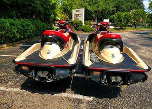 Twin 2OO2 Sea-D00 GTX 4-Tec_with_trailer_$1600 all! for Sale in Atlanta, GA