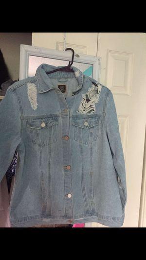 Brand new jean jacket for Sale in Harrisonburg, VA