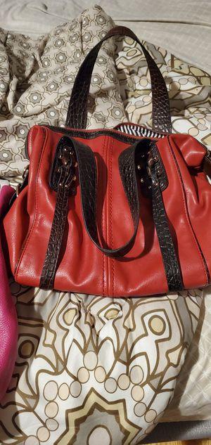 Red purse off brand for Sale in Marietta, GA