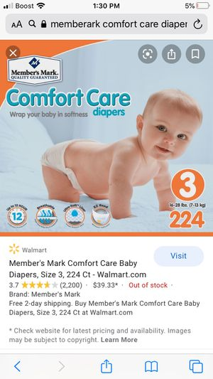 Diapers size 3 for Sale in Lakewood, CO