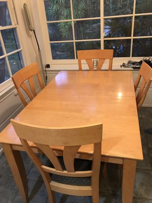 Kitchen table with 4 chairs, barstools optional (make offer) for Sale in Los Angeles, CA