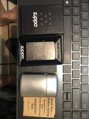 Zippo Lighter and Smoke Tin Tool for Sale in Mesa, AZ