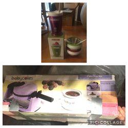 Zoku Ice Cream Maker / Zoku Slush and Shake Maker & BabyCakes Cake Pop Kit - Please Read Description for Sale in Renton,  WA