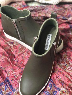 Steve Madden Wedgie Rain Boot for Sale in Brandon, MS