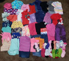 GIRL CLOTHES 18M-2T for Sale in Glendora, CA