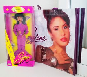 Selena Doll The Original and Tote Bag for Sale in Fontana, CA