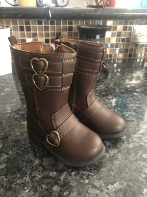 Carter's Girls Boots Toddler size 6 NEW for Sale in Cypress, TX